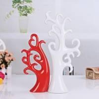 景德镇家居陶瓷摆件 时尚欧式礼品 爱情树