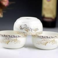 景德镇精致骨瓷碗6寸面碗饭碗单碗