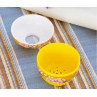 景德镇11头珐琅瓷礼品茶具 带礼品盒