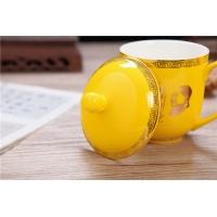 景德镇精品高档陶瓷办公茶杯 会议杯 老板杯 【毛主席茶杯】