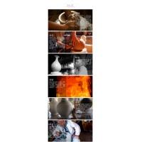 景德镇陶瓷器仿古青花瓷双耳花瓶 客厅书房装饰瓷器工艺摆件【龙纹】